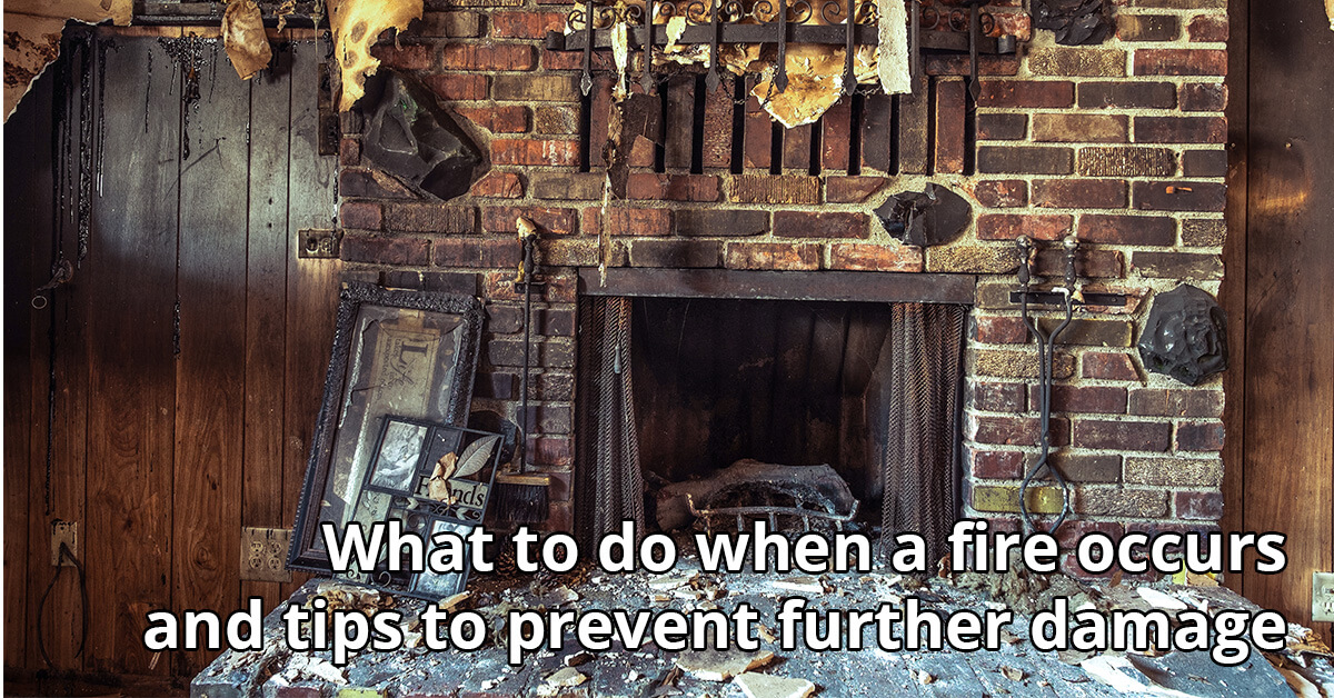 Fire and Smoke Damage Cleanup Tips in Thorp, WI