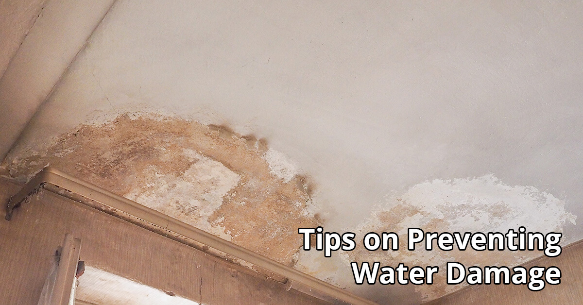 Water Damage Tips in Eau Claire, WI