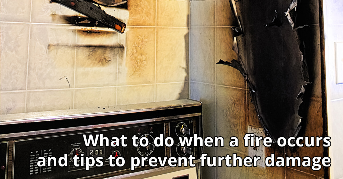Fire Damage Repair Tips in Thorp, WI