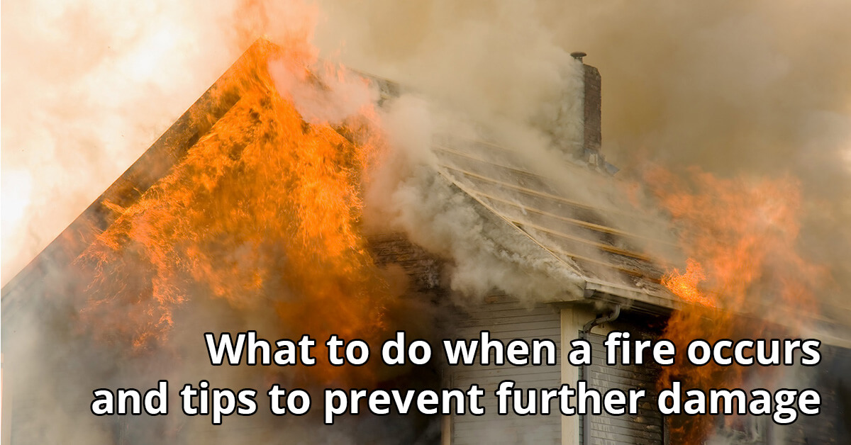 Fire and Smoke Damage Cleanup Tips in Stanely, WI