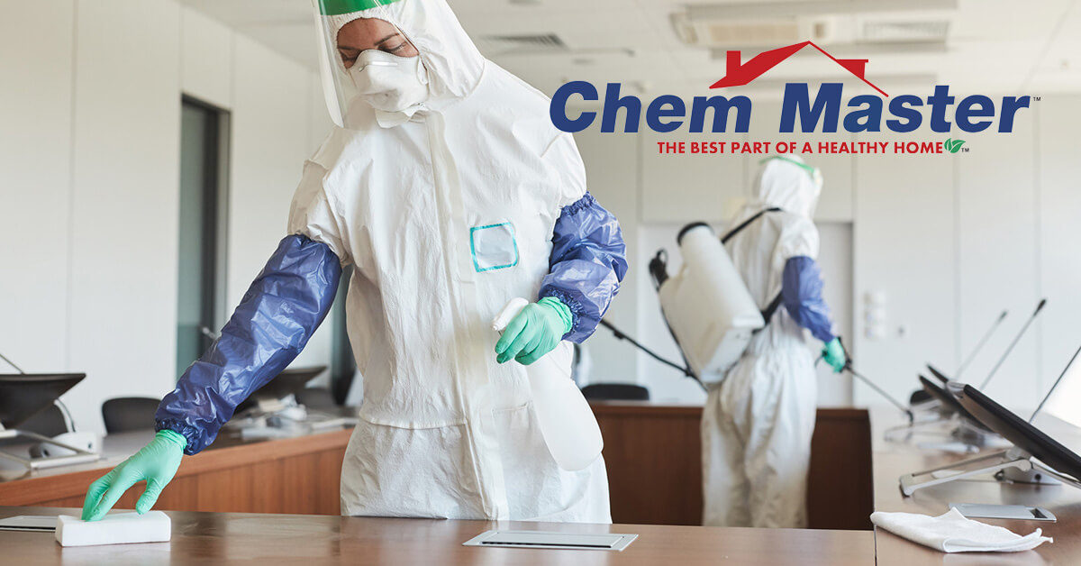Commercial COVID-19 Cleaning Services in Chetek, WI