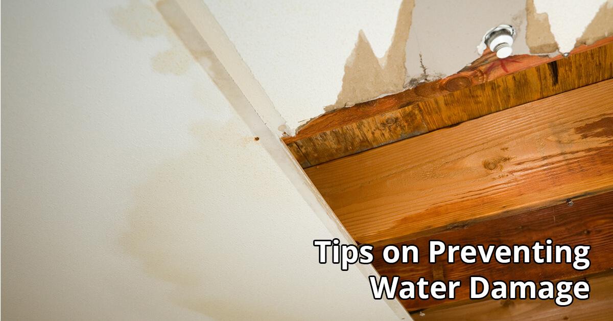 Water Damage Repair Tips in Elk Mound, WI