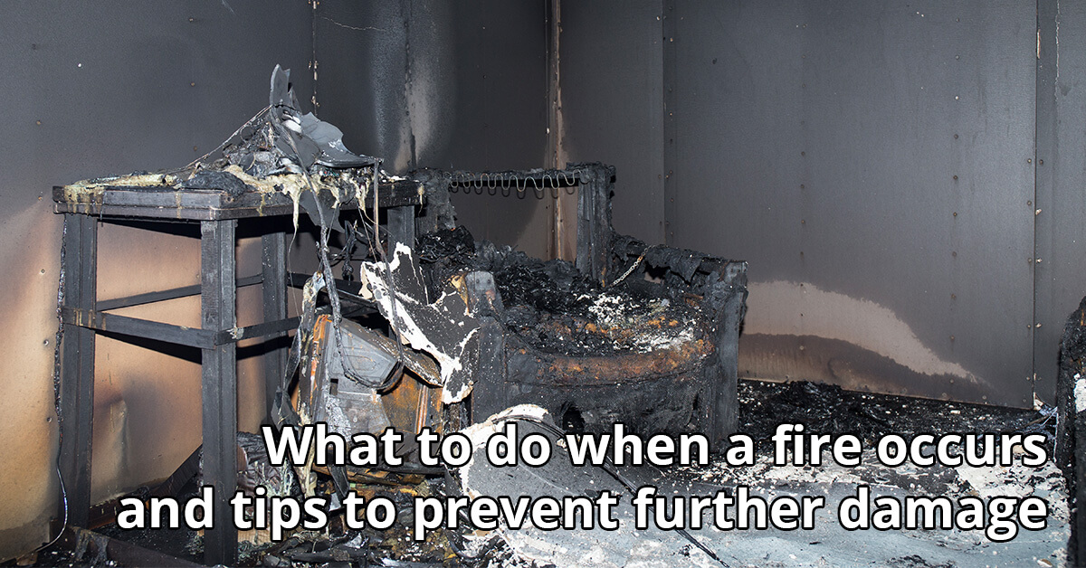 Fire Damage Cleanup Tips in Chetek, WI