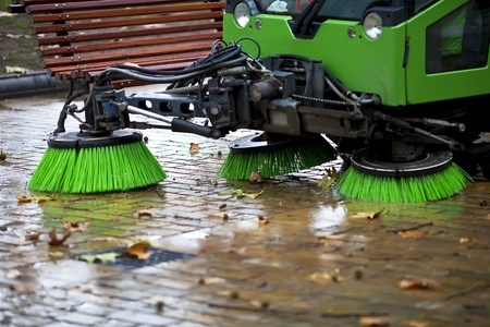 Don't wait! Parking lot sweeping services in Chippewa Falls, WI