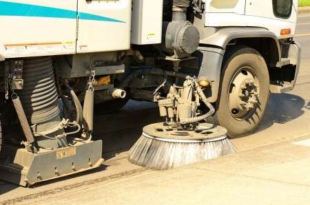 Don't wait!  Street sweeping services in Baldwin, WI